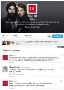 The Art of Listening and Reacting by Gap