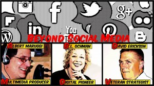 Preview, Beyond Social Media Show Episode 31 – Tues, Jan 14, 2014 9 PM EST