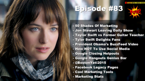 Beyond Social Media Show - 50 Shades Of Marketing - Episode 83