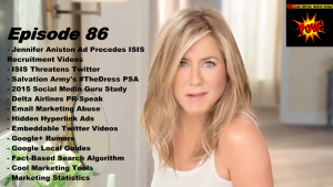 Jennifer Aniston Ads Appear Before ISIS Recruitment Videos
