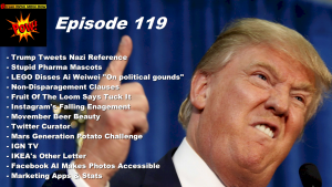 Beyond Social Media - Donald Trump Tweets Nazi Reference - Episode 119