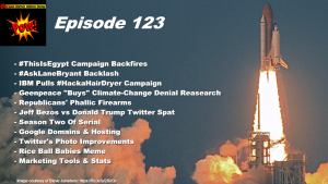Beyond Social Media - Jeff Bezos vs Donald Trump Twitter - Episode 123