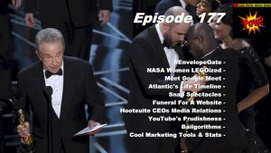 Oscars #EnvelopeGate & NASA Women LEGOized