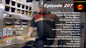 Beyond Social Media - Burger King Bullying Ad - Episode 207