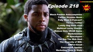 Beyond Social Media - Black Panther Autocomplete - Episode 218