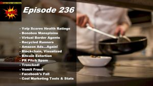 Beyond Social Media - Yelp Health Scores - Episode 236