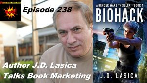 "Video Interview: J.D. Lasica on Strategy & Tactics That Made ""Biohack"" #1 on Amazon"