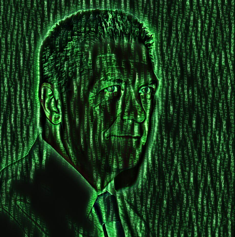 Photo: David Erickson in The Matrix