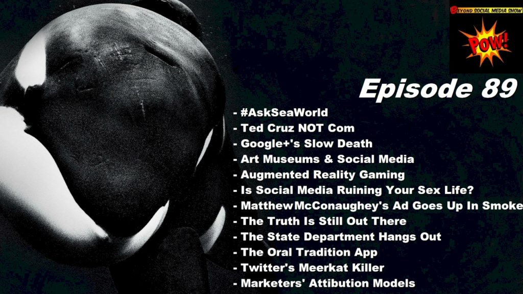 Beyond Social Media Show 89 - Ask SeaWorld