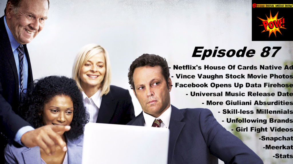 BSMediaShow 87 - Vince Vaughn- Stock Photography Unfinished Business