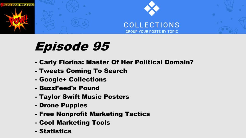 Beyond Social Media Show - Google Plus Collections - Episode 95