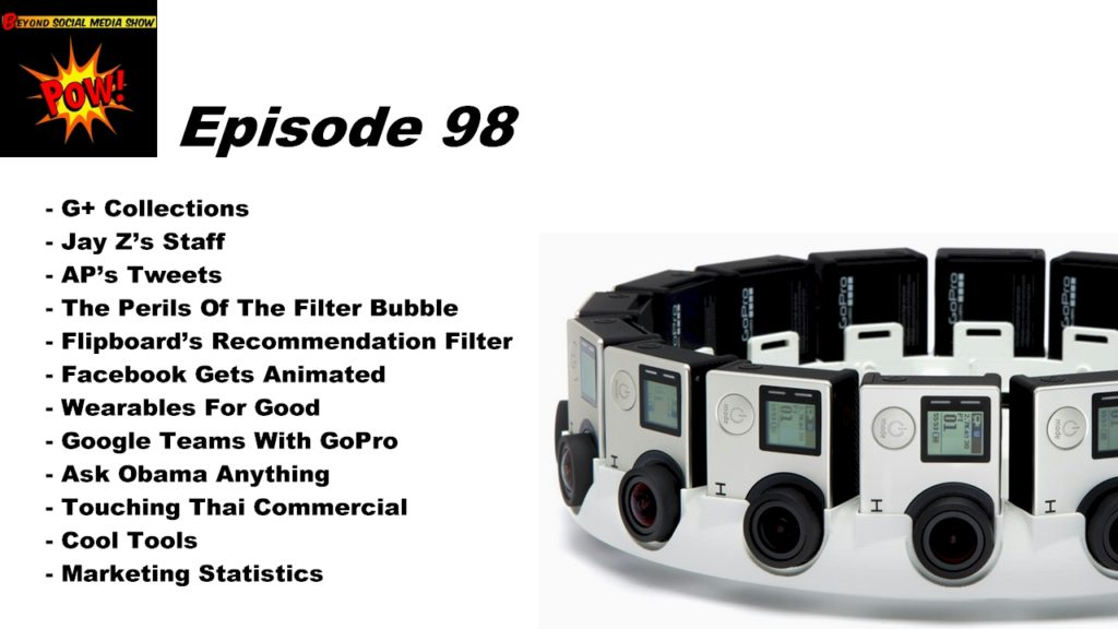 Beyond Social Media Show - Google Teams With GoPro - Episode 98