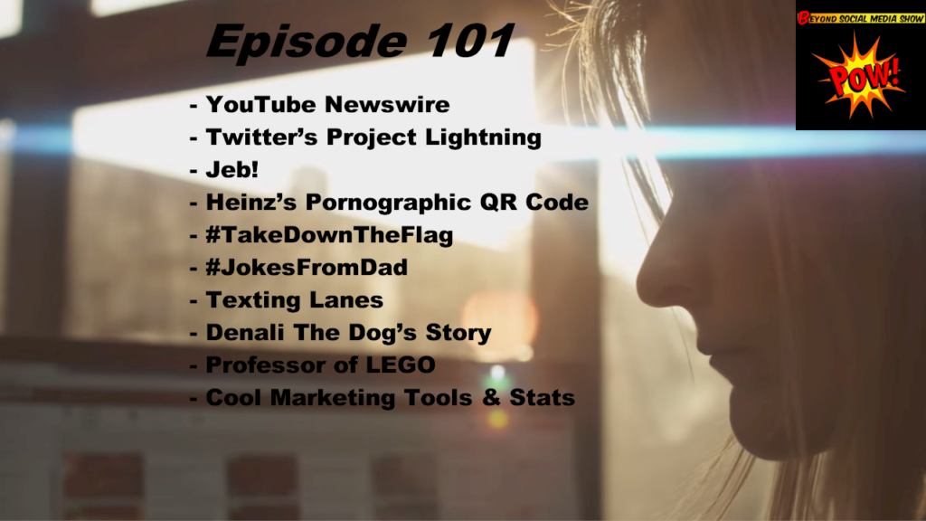 Beyond Social Media - YouTube Newswire - Episode 101