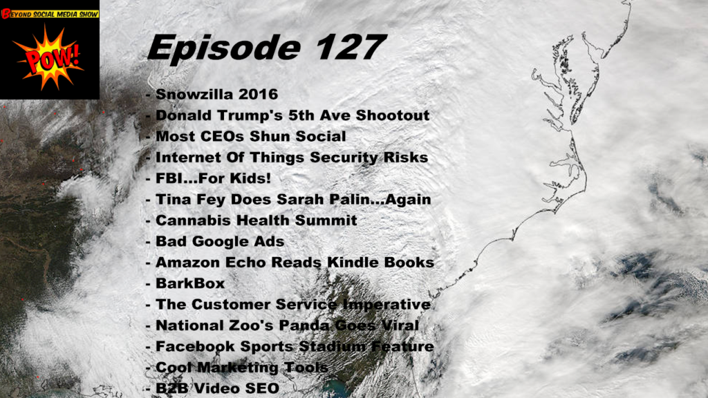Beyond Social Media - Internet of Things Security Risks - Episode 127