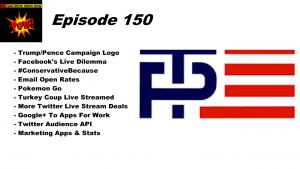Trump Pence Campaign Logo & Pokemon Go