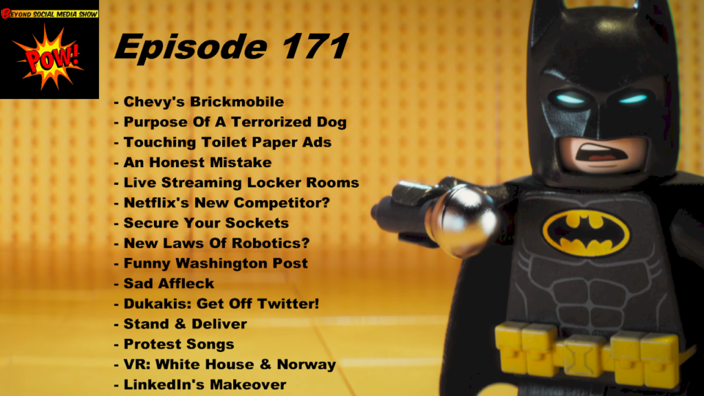 Beyond Social Media - Chevrolet LEGO Batmobile - Episode 171