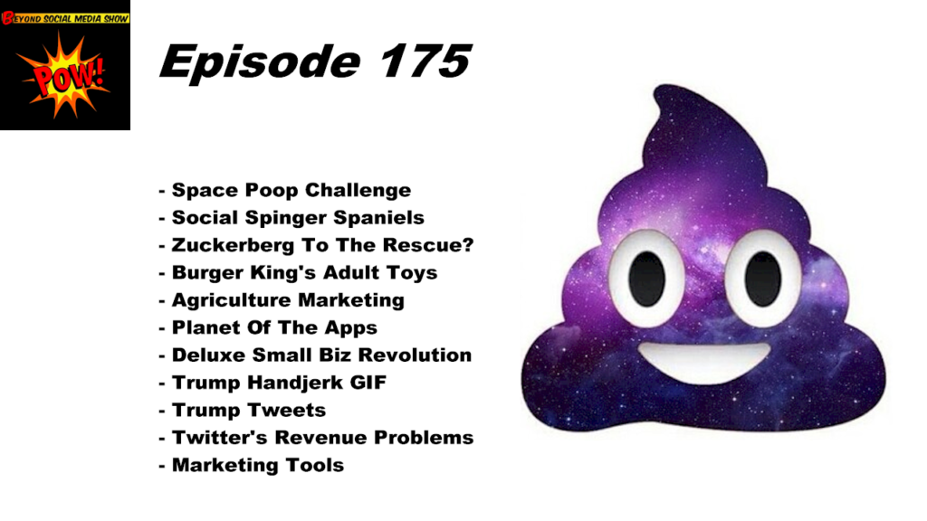 Beyond Social Media - Space Poop Challenge - Episode 175