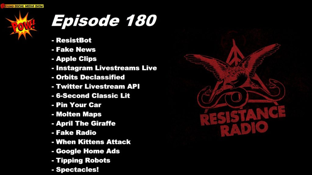 Beyond Social Media - Resistance Radio - Episode 180
