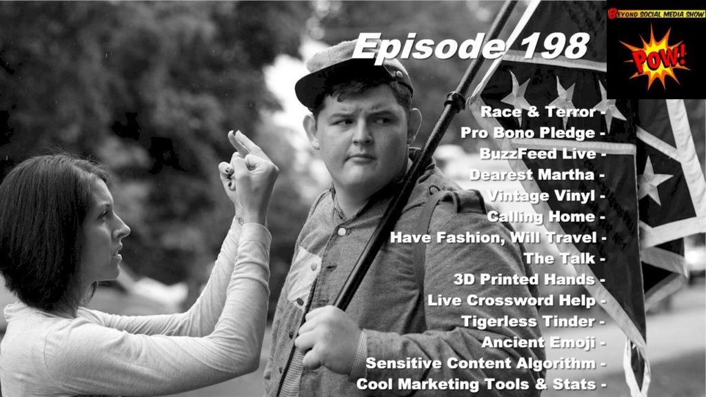 Beyond Social Media - Charlottesville Domestic Terrorism - Episode 198
