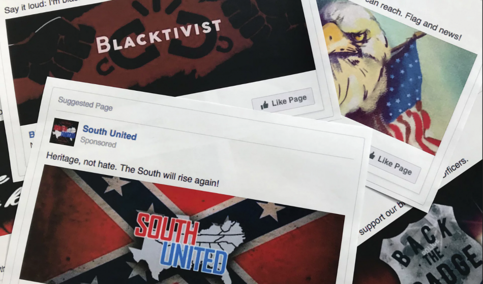Russian Facebook Ads 2016 Election