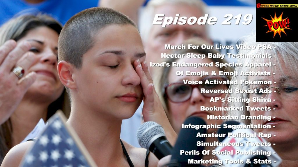Beyond Social Media - March For Our Lives Video PSA - Episode 219