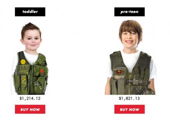 Bulletproof Vests for Kids