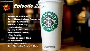Starbucks Blacklash & David Bowie's Subway Station
