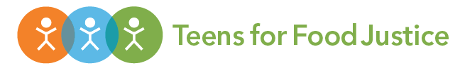 Teens for Food Justice logo