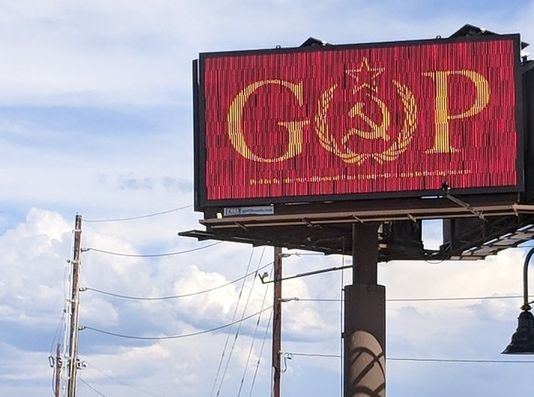 GOP Billboard