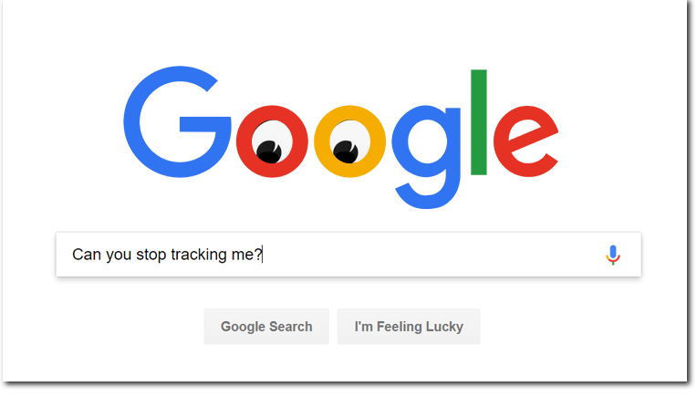 Google is always tracking you.