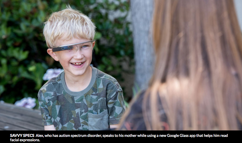 Google Glass may help autistic children