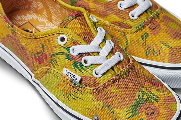 Photo: Vans - Van Gogh Sunflower Shoes