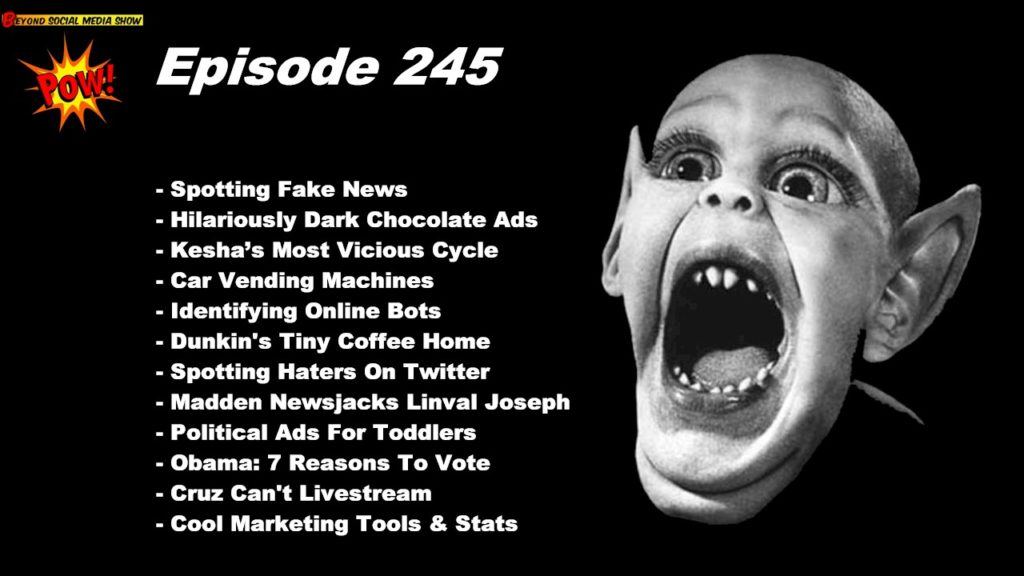Beyond Social Media - Spotting Fake News - Episode 245