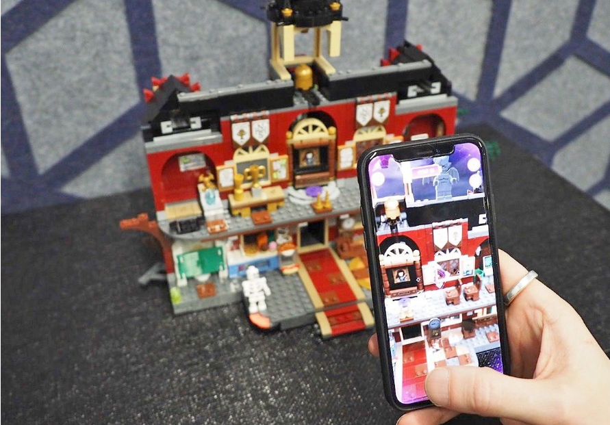 Legos augmented reality game