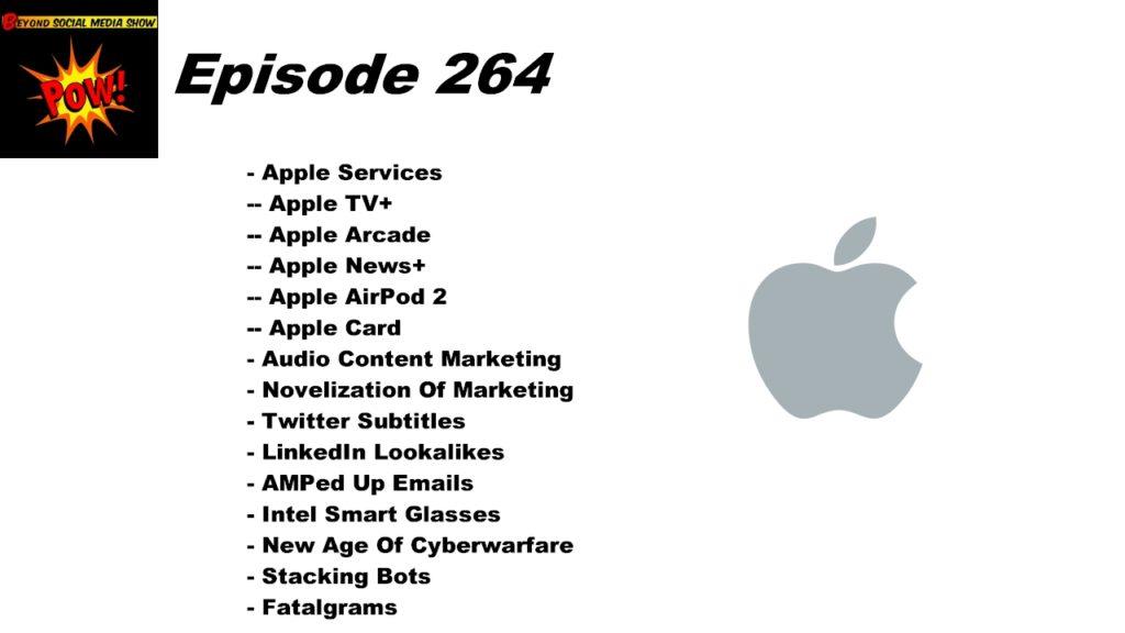 Beyond Social Media - Apple Services - Episode 264
