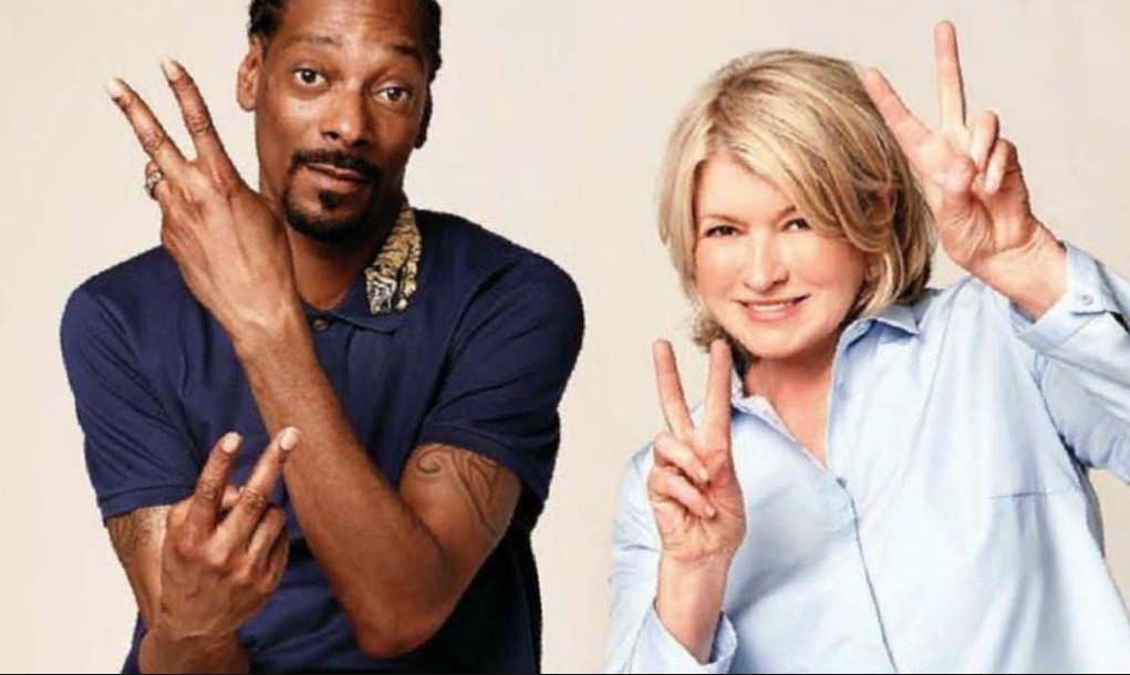 Photo of Snoop Dogg and Martha Stewart