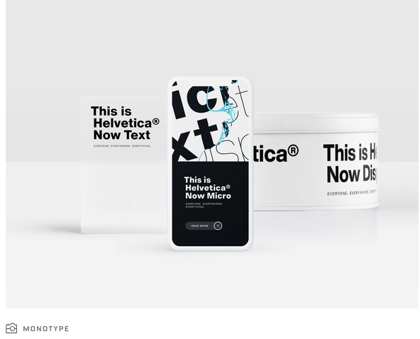 Helvetica, World's most popular typeface, gets an update to Helvetica Now