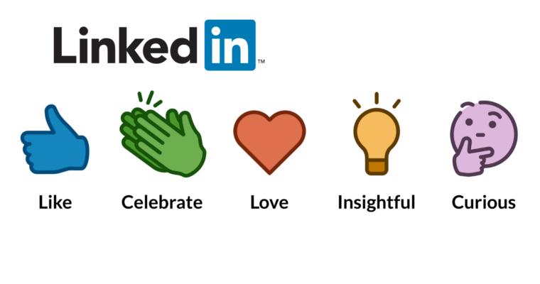 LinkedIn Reactions