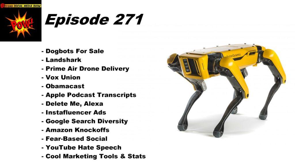 Beyond Social Media - Boston Dynamics Spot - Episode 271