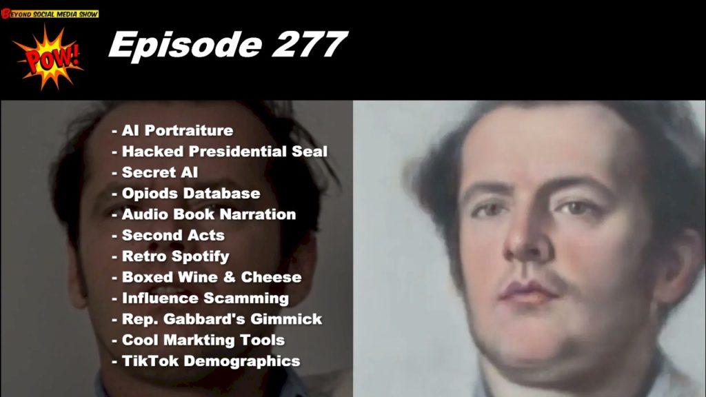 Beyond Social Media - Artificial Intelligence - Episode 277