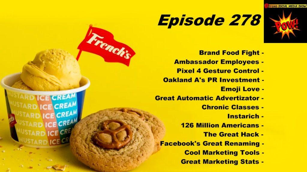 Beyond Social Media - Brand Food Fight - Episode 278