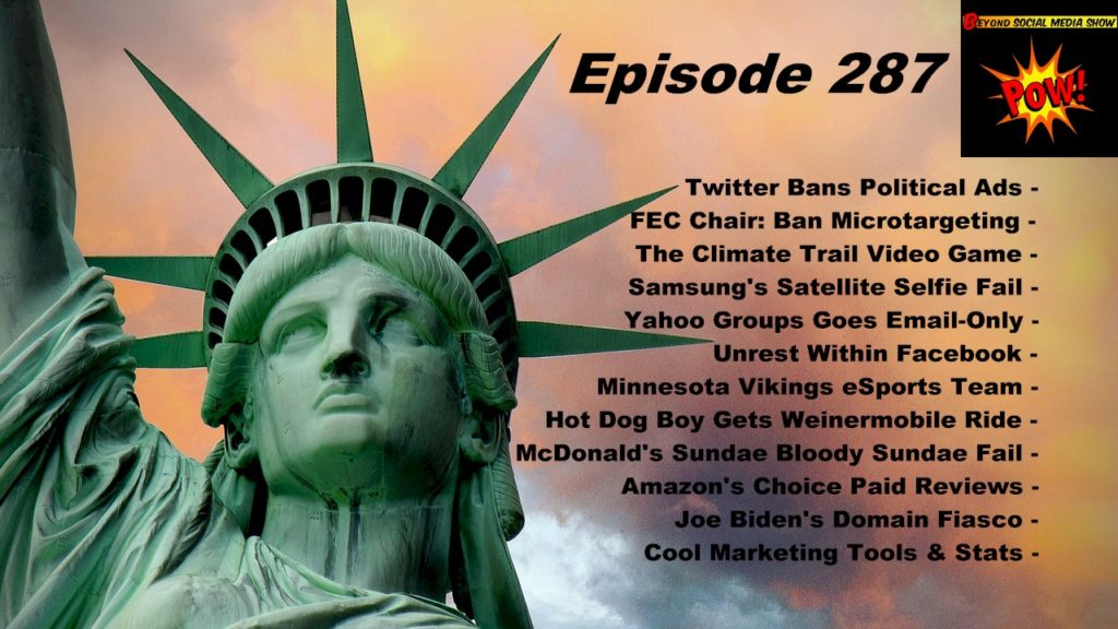 Beyond Social Media - Online Political Ads - Episode 287
