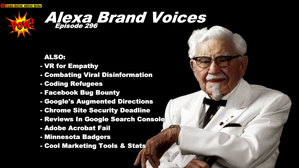 Beyond Social Media - Alexa Brand Voices - Episode 296