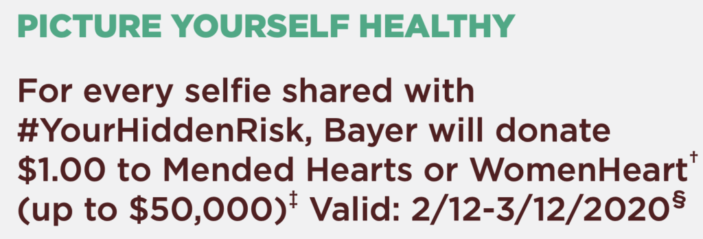 Bayer's Hidden Heart Attack risk campaign