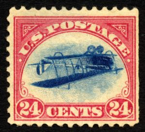 Inverted 24 Cent Stamp