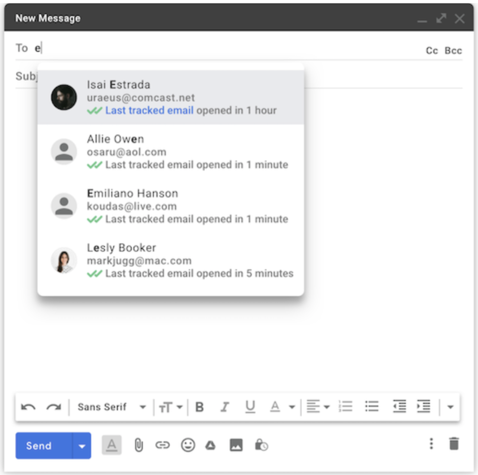 Mailtrack adds three new features.