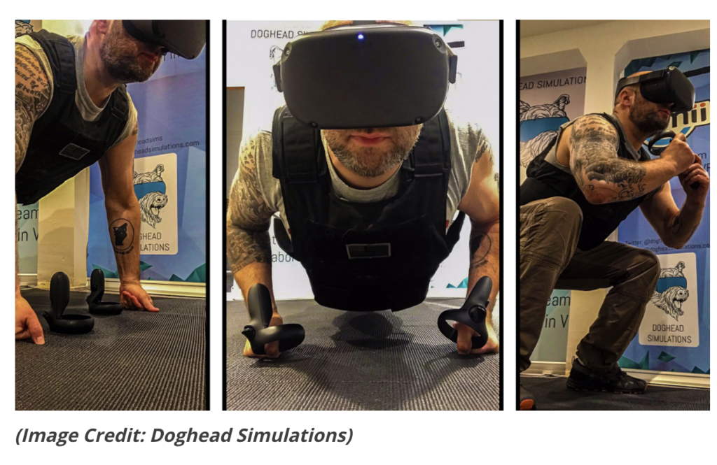 VR and AR exercise simulations to stay fit during coronavirus quarantine