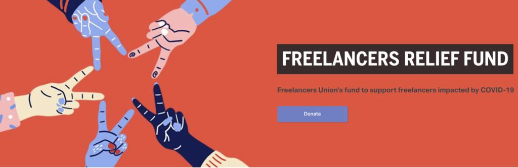 Freelancers Union has created Freelancers Relief Fund