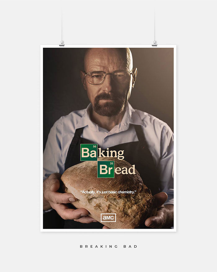 Breaking Bad parody poster