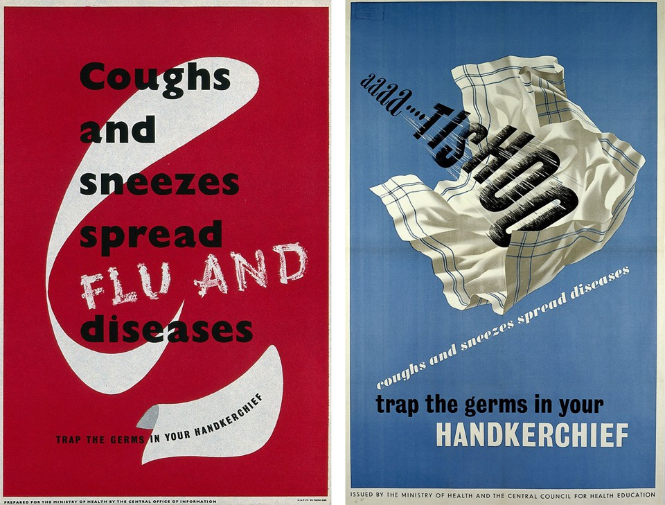 1950s-Era Public Health PSA Posters